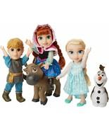 Disney Frozen Deluxe Petite Doll Gift Set - Includes Anna, Elsa, Kristof... - $69.95