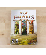 Age of Empires III 3 Disc Edition for PC Original Case Manuals Booklets - $12.99