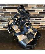 Guess ankle strap strappy heels - $50.49