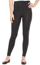 Anne Klein Charcoal Gray Fleece Lined Leggings ... - $16.64