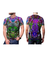 Satanic DMT DRUG Dark Psychedelic Hallucinogen lsd acid hippie Men's T S... - $19.99