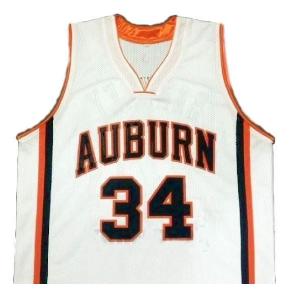 Charles barkley college basketball jersey white  1