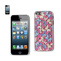 REIKO IPHONE SE/ 5S/ 5STUDDED PLATING RIVETS BUTTERFLIES DESIGN CASE IN ... - $5.91
