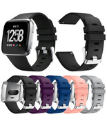 Colorful Silicone Sport Watch Band 23mm Classic Replacement For Fitbit V... - $11.20