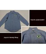 Greenbay Blue Denim Jean Shirt Western Duck Tail Children's Sz 7 NEW - $10.88