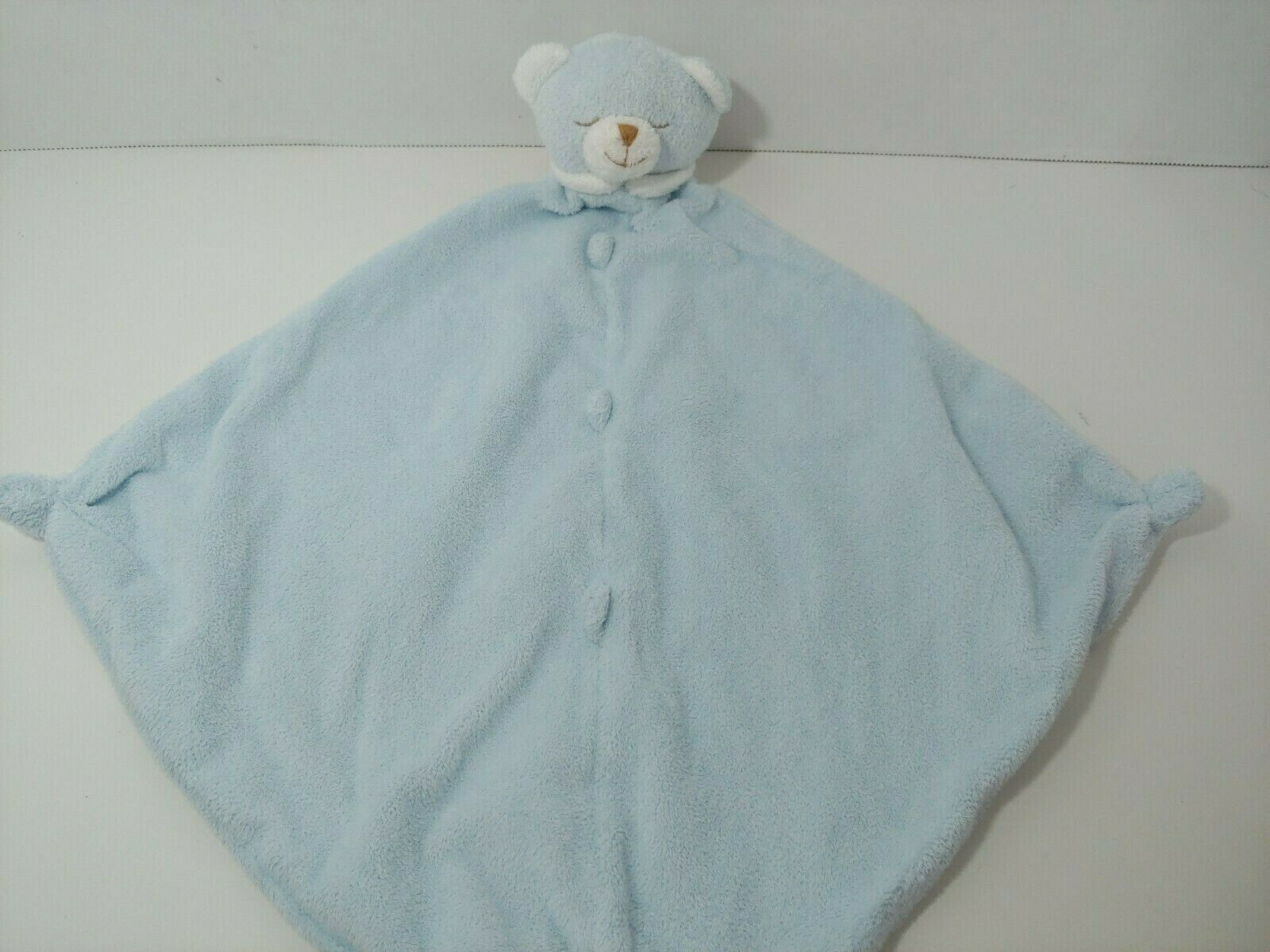 Primary image for Angel Dear plush blue teddy bear Baby Security Blanket Lovey knotted toy