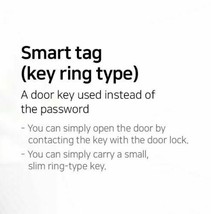 NEW SAMSUNG DOOR LOCK EZON RFID Smart Key Tags for Samsung DoorLock Ring Type  image 2