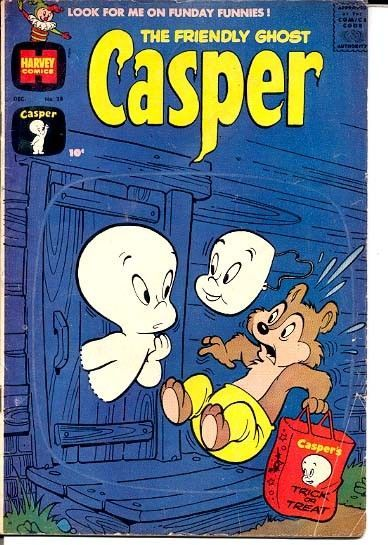 FRIENDLY GHOST CASPER, THE-#28-HALLOWEEN CVR VG