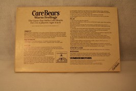 Care Bears Warm Feelings Board Game Replace Instruction VTG 1984 Parker ... - $9.95