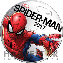 2017 Marvel LIGHT-UP Coin Series - SPIDER-MAN - Fiji - Second In Series - $24.99