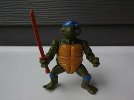1988 TMNT Teenage Mutant Ninja Turtles Leonardo Action Figure - $12.01
