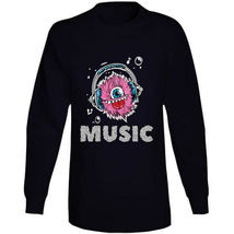 Monster Music Head Phones Long Sleeve T Shirt image 10