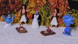 Vintage Disney Aladdin Figures Genie, Aladdin, & Abu by Pax Manf. Co. - $11.00