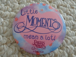 """LITTLE MOMENTS MEAN A LOT"" PRECIOUS MOMENTS by ENESCO PIN (#1936)  - $1.99"