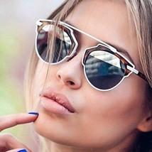 "So ""REAL"" Futuristic Metal Bar Top Mirror Split Lenses Women Sunglasses - $6.95+"