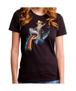 Cat with Cowboy hat riding Shark Sharkaroo Ladi... - £12.81 GBP - £17.11 GBP