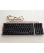 Apple M2452 97-Key MAC USB Keyboard (Translucent/Red) - $19.95