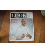 #3 Vintage Look Magazine February 25, 1964 Pope Paul - $9.50