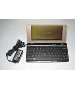 Sony Vaio P Lifestyle PC P91S Intel 1.33Ghz 128GB SSD 2GB Ram UMPC RARE ... - $549.99