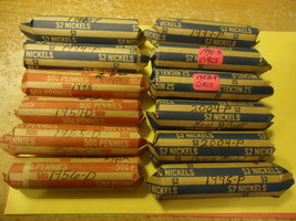 2004-P ROLL OF NICKELS (PEACE MEDAL)  >> WE COMBINE SHIPPING << - $5.00