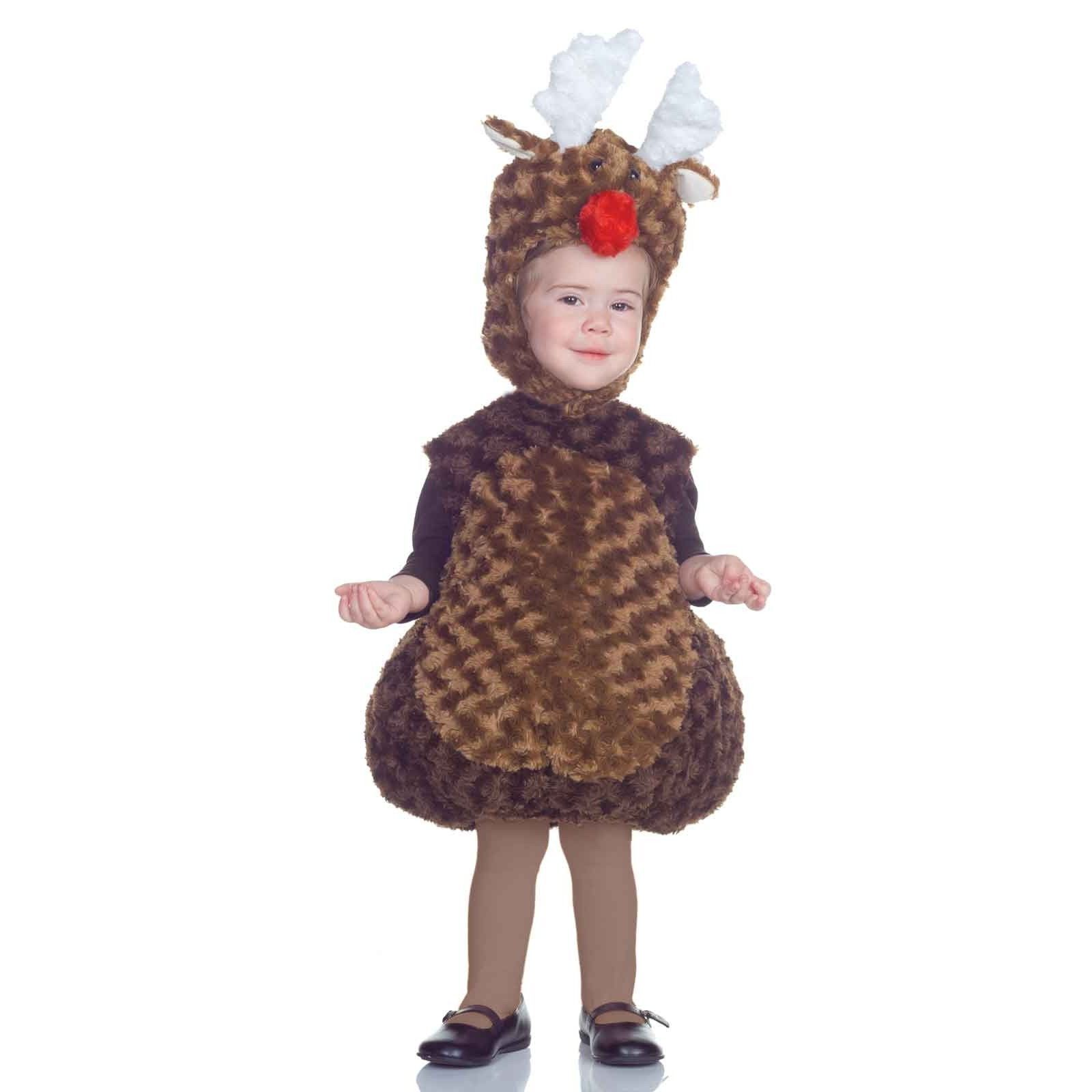 NEW NIP Toddler Underwraps Reindeer Christmas Costume 18-24 Months or 2T-4T
