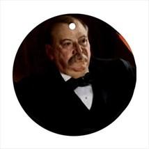 Grover Cleveland New York Round Ornament w/ Ribbon Hanger - $7.37