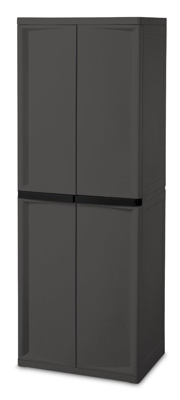 Large Utility Cabinet Storage Bin Pantry Tool Garage Hobby