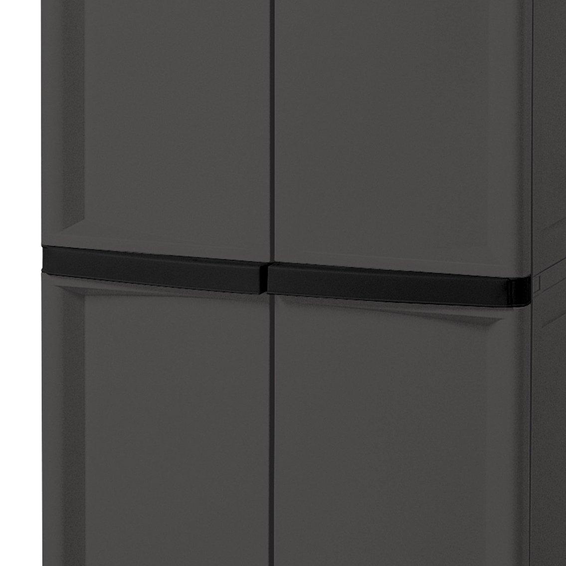 large utility cabinet storage bin pantry tool garage hobby. Black Bedroom Furniture Sets. Home Design Ideas
