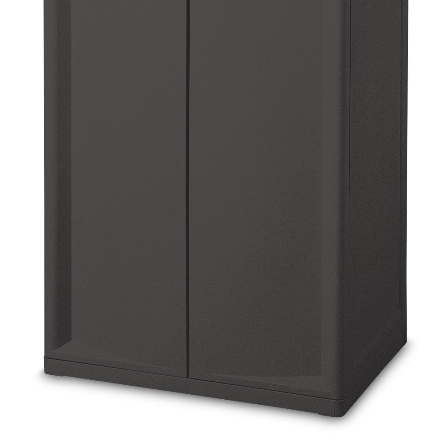 Large Utility Cabinet Storage Bin Pantry Tool Garage Hobby Food 4 Shelves Doors Other