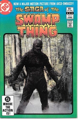 Saga of the Swamp Thing Comic Book #2 DC Comics 1982 VERY FINE NEW UNREAD
