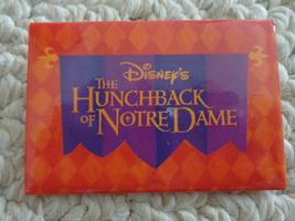 "Disney'S ""The Hunchback Of Notre Dame Pinback (#1959) - $1.99"