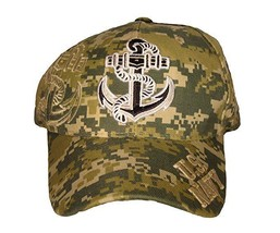 NEW U.S. Navy Anchor Cap. Digital Camo - $11.99
