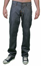 LRG Mens Raw Grey Mean Streak True Slim Straight Fit Denim Jeans 30 NWT image 1