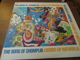 The Songs Of Champlin Loose Up Naturally Record Album - $8.99