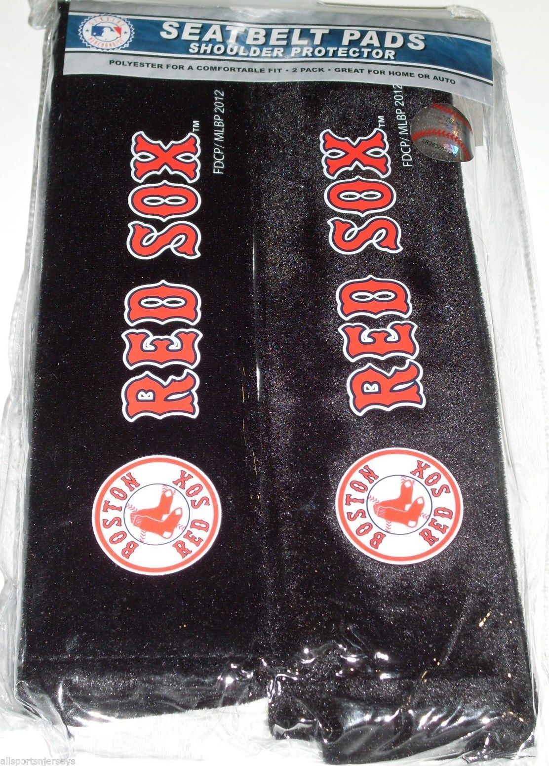 70ce22b9c74a Nip Mlb 2 Pack Seat Belt Pads - Boston Red and 13 similar items. S l1600
