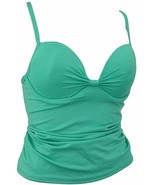 Apt. 9 Women's Swimwear Push Up with Underwire Ruched Shirred Tankini Top - $14.99