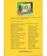 Margaret Boyles Needlepoint Stitchery Book - $11.95