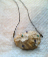"""Wire Wrapped Shell Necklace 20"""" - $12.00"""