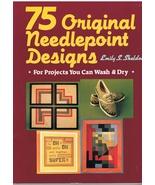 Book of 75 Original Needlepoint Designs  - $10.95