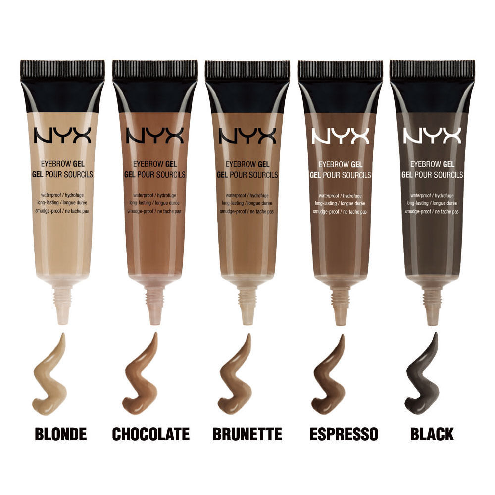"Primary image for 2NYX Waterproof Eyebrow Gel "" Pick Your 2 Color "" EBG"