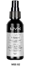 NYX  Makeup Dewy Finish Setting Spary MSS02 - $7.18