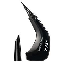 NYX The Curve Felt Tip Eye Liner Jet Black TC01 - $11.39