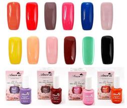 """PICK ANY 4 COLORS""Salon Gel Nail Polish Color UV LED Soak off manicure ... - $18.07"
