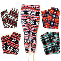 Womens winter soft Velvet fleece lined stretch skinny leggings - $12.95