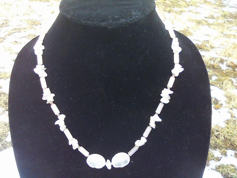 Rose Quartz Necklace image 1