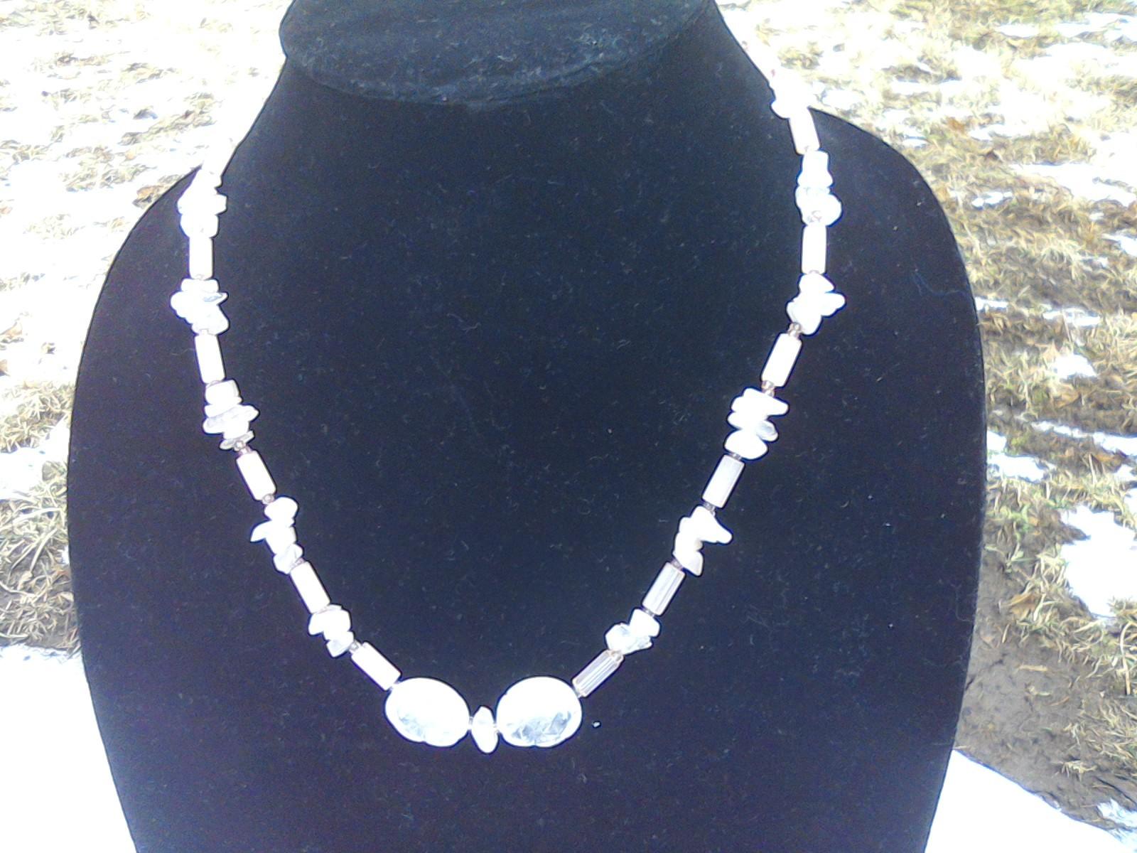 Rose Quartz Necklace image 2