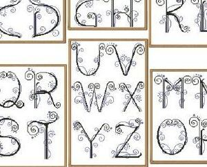 My Alphabet cross stitch chart Alessandra Adelaide Needleworks