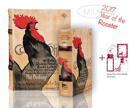 Rooster Nesting Book Box Set Recipes Secret Box, 2017 - Year of the Roos... - $39.99