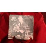 RCA Victor Elvis Presley Love Me Tender 45 RPM 47-6643 w/ Pink Picture S... - $34.99