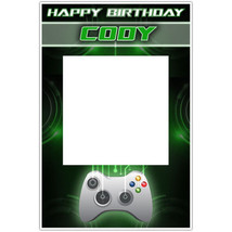 Video Gamer xBox Selfie Frame Photo Booth Prop Poster - $16.34+